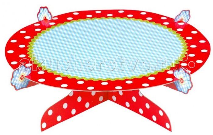 Spiegelburg Подставка для торта Garden 10324Подставка для торта Garden 10324Spiegelburg Подставка для торта Garden 10324 Удобная подставка для торта из трех частей. Оригинальное украшение праздничного стола! Изготовлена из качественных гиппоалергенных материалов.   Подставка для торта - отличный выбор, который гармонично сочетает эстетику и функциональность.  Немецкая компания Spiegelburg специализируется на детских товарах уже более 20 лет, это гарантирует высочайшее качество продукции и соответствие европейским стандартам.<br>