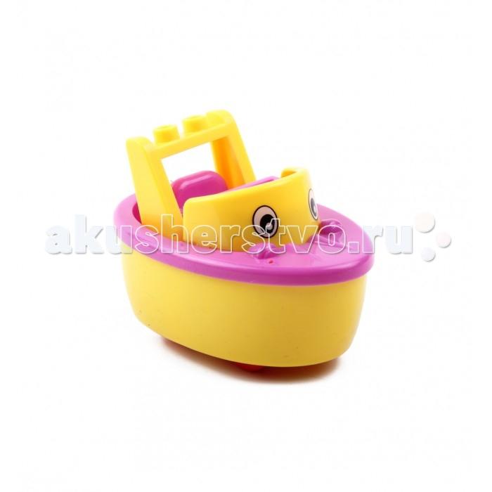 Каталка-игрушка Tongde КорабликКорабликTongde Каталка Кораблик  Веселый и яркий кораблик обязательно понравится Вашему малышу. Игрушка-каталка стимулирует ребенка к двигательной активности, а также помогает понять причинно-следственные связи. У кораблика 4 устойчивых колеса, его очень удобно катать как по квартире, так и на улице. Игрушка сделана из безопасных качественных материалов.  Размер игрушки: 10 х 6 х 5.5 см<br>