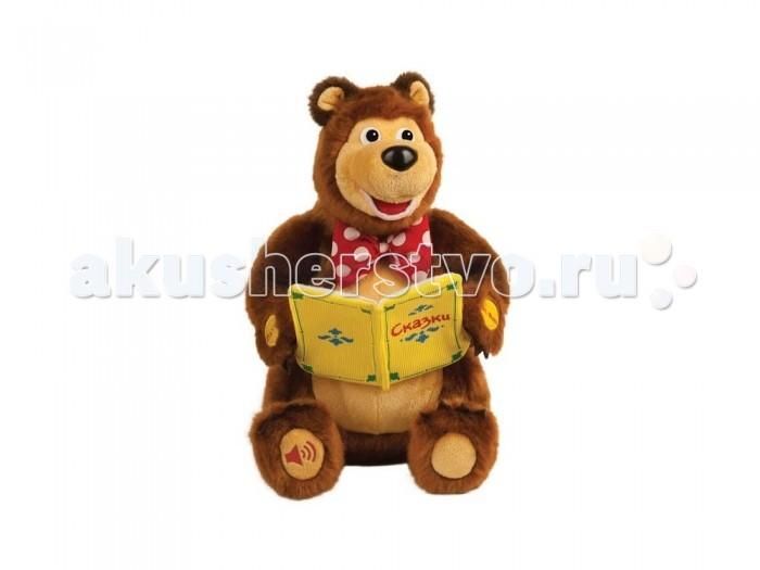 Интерактивная игрушка Мульти-пульти Мягкая игрушка Мишка-сказочник (10 сказок)Мягкая игрушка Мишка-сказочник (10 сказок)Мягкая игрушка Мульти-Пульти Мишка-сказочник из серии «Маша и Медведь» станет отличным подарком для тех, кто любит отечественный мультсериал про забавную девочку Машу и ее друга.  Высота игрушки: 25 см. Материал. Искусственный мех, ткань. Набивка: полиэфирное волокно.<br>