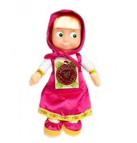 Интерактивная игрушка Мульти-пульти Мягкая игрушка Маша (3 сказки)