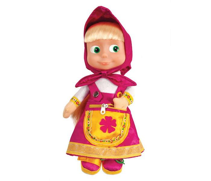 Интерактивная игрушка Мульти-пульти Мягкая игрушка Маша учит одеваться