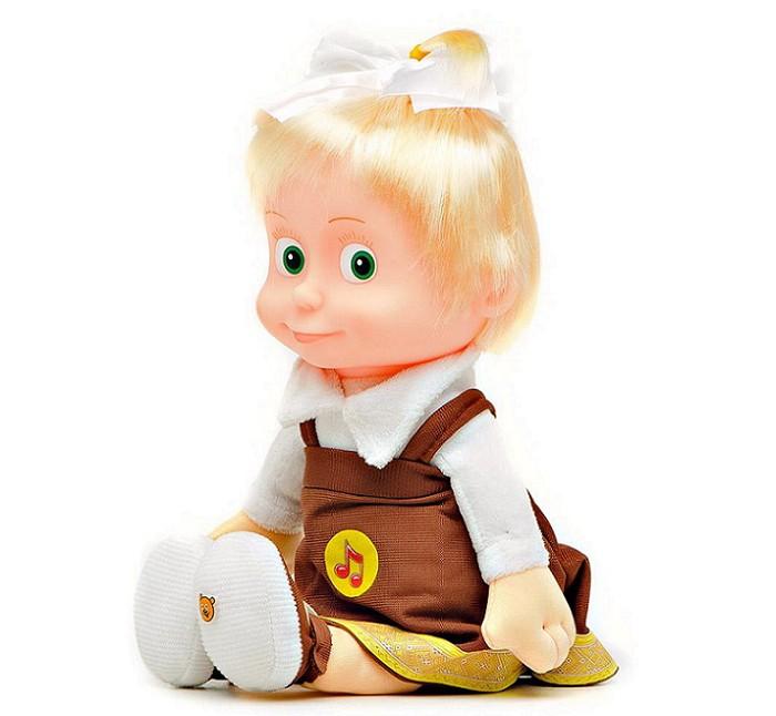 Интерактивная игрушка Мульти-пульти Маша школьница музыкальная 29 смМаша школьница музыкальная 29 смИнтерактивная игрушка Мульти-пульти Маша школьница обрадует малыша, так как один из всеми любимых героев мультика Маша и медведи будет всегда рядом с малышом!  С помощью игрушки,ребёнок сможет разыгрывать любие сценки из мультика. А при помощи музыкального чипа, встроенного в игрушку, всегда можно прослушать 5 забавных фраз и песенку из мультфильма Маша и Медведь голосом персонажа.  Игра с такой игрушкой разовьет у ребенка воображение, творческие способности и мелкую моторику рук.  Высота игрушки: 20 см. Материал: ткань, набивка полиэфирным волокном и гранулами.<br>