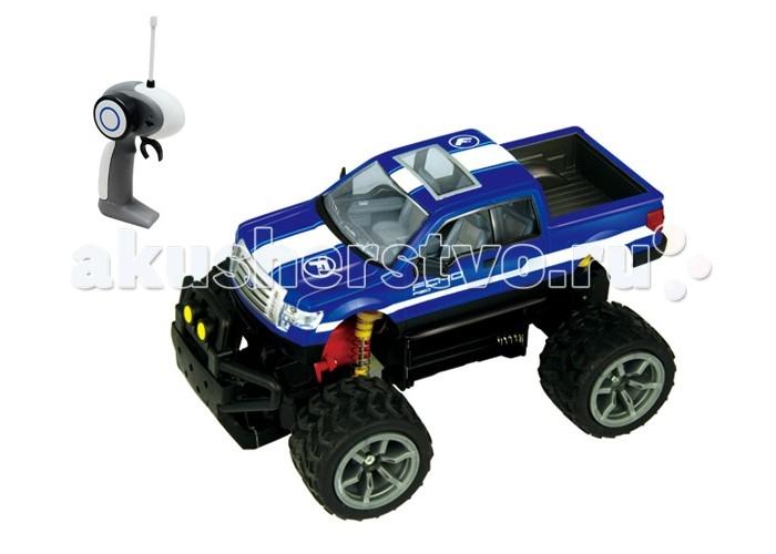 Auldey Машина на батарейках радиуоправляемая F150 XLT LC226010-6Машина на батарейках радиуоправляемая F150 XLT LC226010-6Машина на радиоуправлении Ford F150 XLT изготовлена из прочных материалов и повторяет существующую модель авто, правда уменьшенную в несколько раз (масштаб машинки равен 1:18 к оригиналу).  Высокие колеса и мощный бампер делают машинку бесстрашной перед какими-либо преградами и случайными авариями.   Управляется машинка с помощью специального пульта, изящный корпус которого повторяет изгибы руки.  Работает машинка от 6 батареек, которые необходимы как для пульта (2 штуки), так и для машинки (4 штуки).<br>