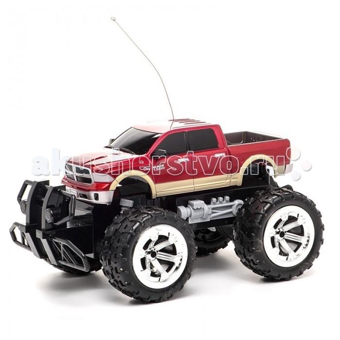 Auldey Машина на батарейках радиуоправляемая Dodge Ram 1500 LC226030-0Машина на батарейках радиуоправляемая Dodge Ram 1500 LC226030-0Машина на радиоуправлении Dodge Ram 1500 LC226030-0 изготовлена из прочных материалов и повторяет существующую модель авто, правда уменьшенную в несколько раз (масштаб машинки равен 1:18 к оригиналу).  Высокие колеса и мощный бампер делают машинку бесстрашной перед какими-либо преградами и случайными авариями.   Управляется машинка с помощью специального пульта, изящный корпус которого повторяет изгибы руки.  Игрушка оснащена системой торможения, блокирующей все четыре колеса. Колеса типа монстр-трак позволяют машине ездить по довольно неровным поверхностям  Работает машинка от 6 батареек, которые необходимы как для пульта (2 штуки), так и для машинки (4 штуки).<br>