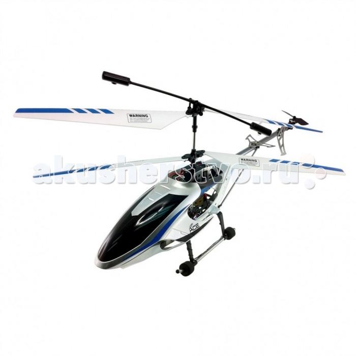 Auldey Вертолет с гироскопом YW857170 75 см 3 канала управленияВертолет с гироскопом YW857170 75 см 3 канала управленияВертолет с гироскопом и металлическим корпусом, удивительная и серьезная игрушка. Вертолет имеет гироскоп и 3-х канальное управление, которое позволяет выполнять крутые маневры и зависать в воздухе.  Возможность управлять с земли столь мощным и большим вертолетом очень зрелищное и захватывающее занятие. 3-х канальное пропорциональное инфракрасное управление Функции полета: вверх/вниз, вперед/назад, поворот влево/вправо, вращение, турбоускорение.  Частоты управления А, В, С (для одновременной игры с несколькими вертолетами одной модели) Встроенный литиевый аккумулятор.  Максимальная дистанция для управления летательным аппаратом 30 м  Длительность полета — до 10 минут  Время полной зарядки — около 45 минут  Тип управления ИК-управление  Питание модели: аккумулятор пульта: 6 батареек типа АА   Максимальная скорость: 10 км/ч.  Время игры: 15 мин.  Время зарядки: 4-5 ч.  Пульт управления: радио • 3 канала, работает на частоте 27 МГц или 40 МГц., радиус действия до 30 м.  В наборе: Вертолёт,пульт управления, аккумулятор ,запасной основной пропеллер,зарядное устройство  Длина вертолёта 75 см  Работает от 6 шт. АА (в комплект не входят)<br>