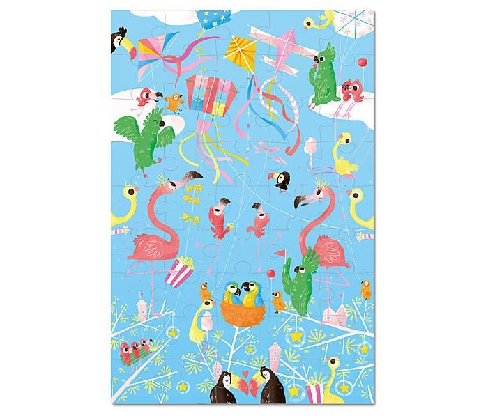Krooom Игрушки из картона: пазл Воздушные змеиИгрушки из картона: пазл Воздушные змеиKrooom Игрушки из картона от 3 лет: пазл Воздушные змеи.  На этом удивительном пазе изображены яркие воздушные змеи и птицы невиданной красоты. Попробуйте его собрать и убедитесь в этом сами.  45 штук, для детей старше 3-х лет Размер: 45 х 30 см.<br>