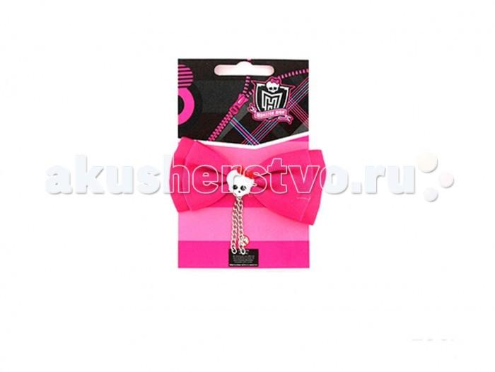 Monster High Заколка ДракулараЗаколка ДракулараMonster High Заколка Дракулара  Эта заколка выполнена в виде изящного розового банта. Она украшена логотипом Школы монстров череп с бантиком и маленькими цепочками. Заколка крепится к волосам при помощи зажима.<br>