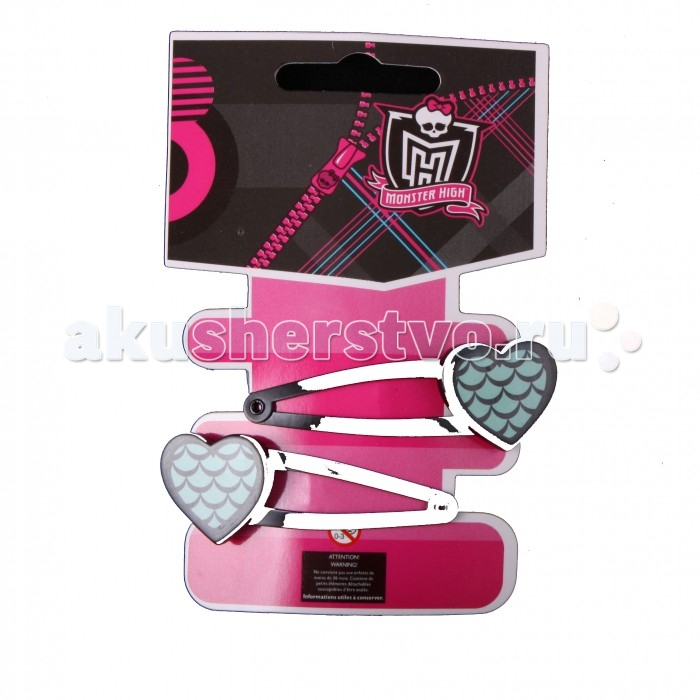 Monster High Заколки Лагуна Блю 2 шт.
