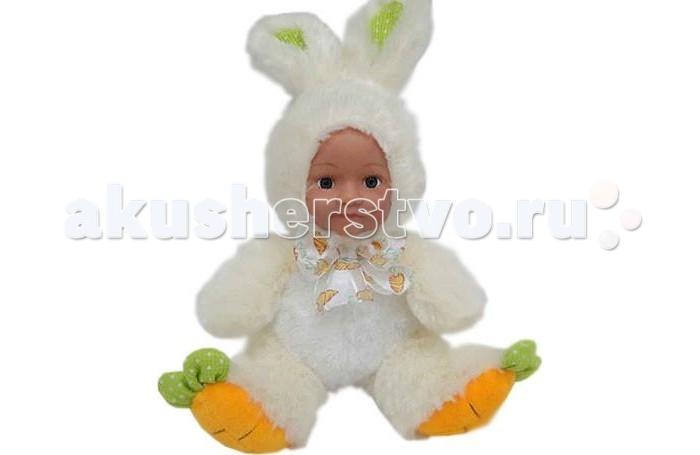 Мягкая игрушка Sonata Style Кукла Кролик с бантом 25 см GT7618Кукла Кролик с бантом 25 см GT7618Sonata Style Кукла GT7618 Кролик с бантом 25 см.  Кролик с бантом 25 см Sonata Style GT7618 - это забавная игрушка, которая создана для детей старше 3 лет. Она изготовлена из качественных материалов, которые абсолютно безвредны для ребенка. Плюшевый кролик с бантом обязательно понравится вашему малышу. Игрушка способствует развитию воображения и тактильной чувствительности.<br>