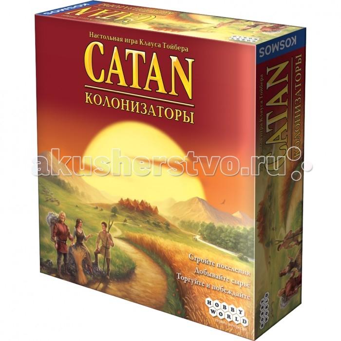 Hobby World Настольная игра Колонизаторы