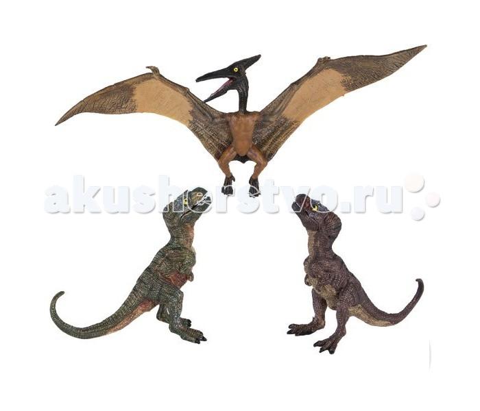 Dinosaur Family Динозавры Птерозавр и Тиранозавр