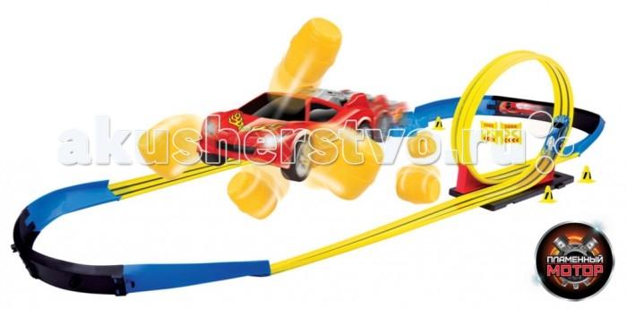 Пламенный мотор Скоростной гоночный автотрек Краш-тест