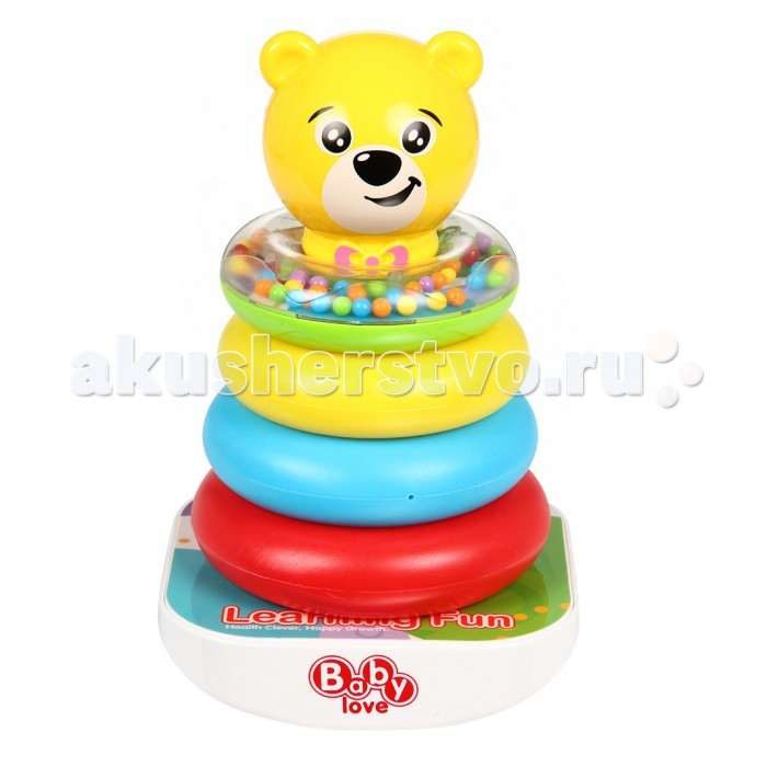 Развивающая игрушка Fivestar Toys Пирамидка Piles CircleПирамидка Piles CircleРазвивающая игрушка Fivestar Toys Пирамидка Piles Circle<br>