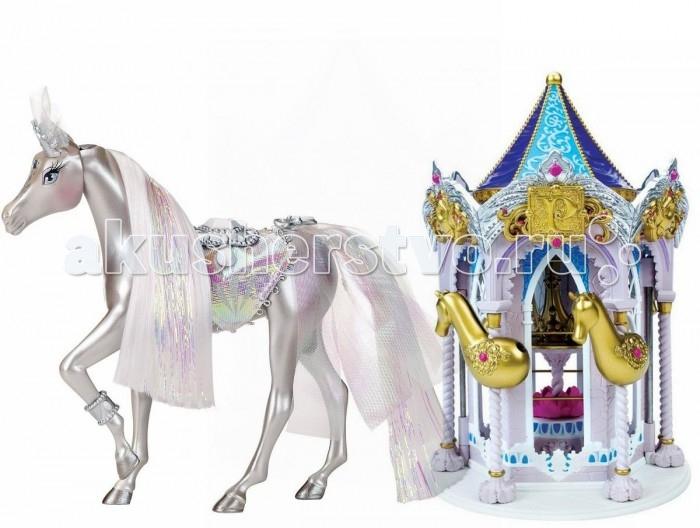 Pony Royal Набор Пони Рояль: карусель и королевская лошадь БриллиантНабор Пони Рояль: карусель и королевская лошадь БриллиантОчень яркая и стильная пони-принцесса Бриллиант знает толк в моде.   Ее цвет переливающийся серебряный. Ее месяц апрель. Ее камень-талисман, украшающий лоб - блиллиант.  У пони шикарная грива, которую можно менять, а также расчесывать.   С волшебной каруселью Pony Royale ваша пони-принцесса готова к выходу в свет. Волшебная карусель - это такой шкаф для хранения модных аксессуаров и драгоценностей вашей пони. Карусель компактно складывается для удобства хранения.   Волшебные Пони-принцессы «Pony Royale» уникальны тем, что они созданы с подчеркнутой женственностью и грациозностью, обычно присущими фешн-куклам. Сделанные из высококачественного пластика, они обладают подвижной головой, а их мягкие гривы и хвосты можно расчесывать. Играя с этими красивыми и изящными лошадками, девочки могут почувствовать себя принцессами, которые заботятся о своих волшебных пони.  В наборе: пони-принцесса Бриллиант, Карусель для нарядов, дополнительные грива и хвост, расческа для укладки гривы и хвоста, 1 юбка.   Рост пони 16.5 см.<br>