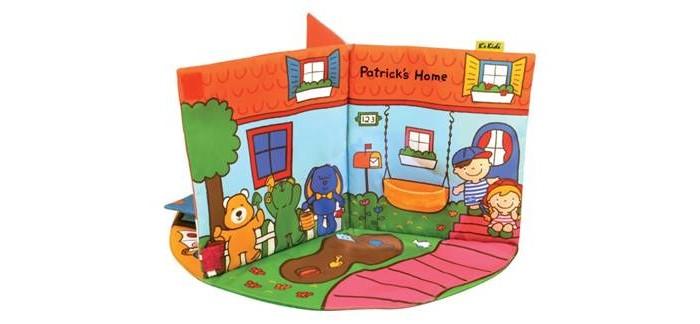 K'S Kids 3D-книжка В гостях у Патрика
