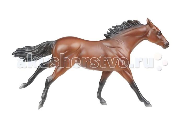 Breyer Американский ФараонАмериканский ФараонВсе лошади серии Stablemates являются игровыми скульптурами, данная серия, в отличие от серии Traditional, посвящена не конкретным лошадям, а породам.   На данный момент продукты компании Breyer являются самыми реалистичными копиями лошадей благодаря точности линий, проработке мелких деталей и ручной росписи. Все это позволяет сделать каждую лошадь особенной и абсолютно не похожей на других.   Масштаб 1:32           Лошадь  упакована в красивую коробку. Изготовлен из высококачественного материала, абсолютно безопасен в использовании, рекомендован детям от 4-х лет.<br>