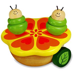 Деревянная игрушка I'm toy Танцующие гусенички