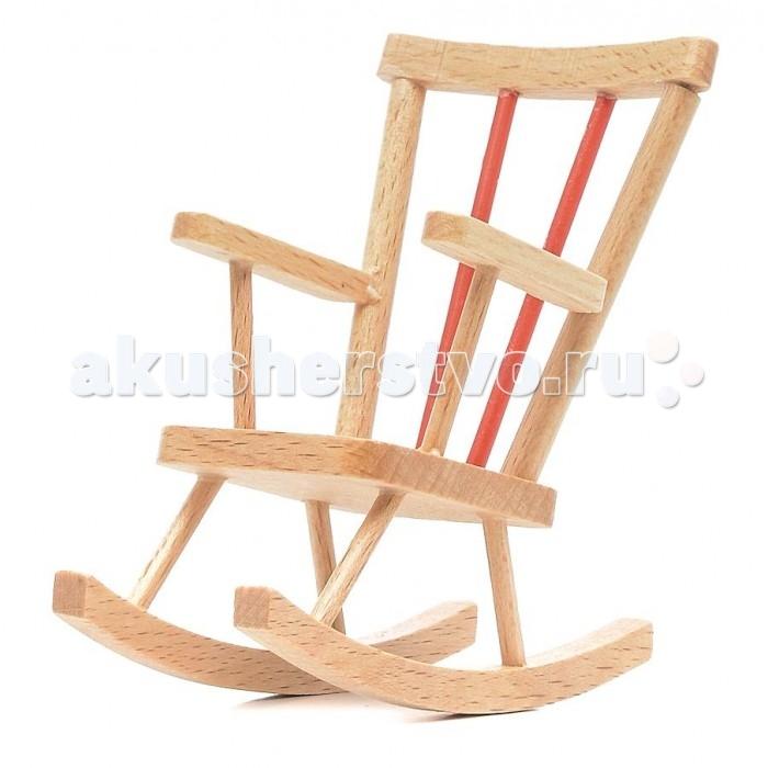 Pupsique Кресло-качалка для куколКресло-качалка для куколКресло-качалка - это прекрасный аксессуар для игры с мини-куклами.   Ваш ребенок может придумать и разыграть различные сценки, используя кукол и кресло.   Игрушка изготовлена из высококачественного материала, в производстве используется древесина бука и клена.   Кресло-качалка обеспечивает развитие и обучение вашего ребенка в процессе игры.<br>