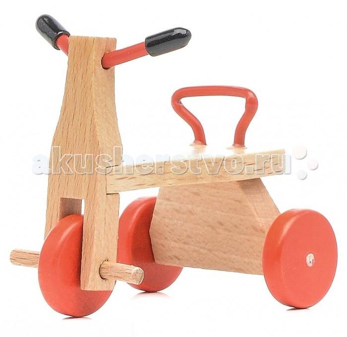 Pupsique Велосипед для куколВелосипед для куколВелосипед для кукол - это прекрасный аксессуар для игры с мини-куклами.   Ваш ребенок может придумать и разыграть различные ситуации, например, загородную прогулку на велосипеде или катание на игровой площадке.   Игрушка изготовлена из высококачественного материала, в производстве используется древесина бука и клена.   Велосипед обеспечивает развитие и обучение вашего ребенка в процессе игры.<br>