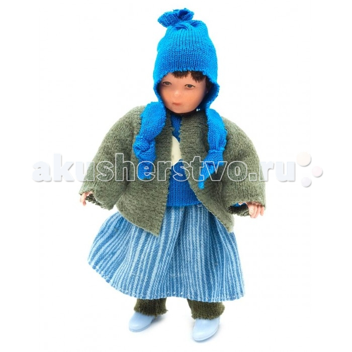 Pupsique Пупс Девочка в голубой полосатой юбке 135 ммПупс Девочка в голубой полосатой юбке 135 ммМиниатюрная кукла девочка 135 мм в голубой полосатой юбке.  Главное, что отличает пупсика Pupsique от подобных игрушек, - это идеальное сходство с человеком. Это авторское произведение, создатели которого сумели детально соблюсти пропорции и особенности человеческого тела.  Размер куколки Pupsique всего 135 мм, однако каждый пупсик раскрашен вручную (hand painted), и все его части подвижны: голова, ручки, ножки. В качестве дополнительных аксессуаров предлагается большой выбор оригинальной дизайнерской одежды, которая, безусловно, понравится детям и их родителям.  Игрушка выполнена из высококачественного винила, гарантированно гипоаллергенного материала. Все куколки и аксессуары к ним помещены в особую блистерную упаковку, при производстве которой используется только пищевой пластик.  Особенности пупсиков: Идеальное сходство с человеком Словно живой Подвижные части тела (5 точек артикуляции) Не имеет аналогов в мире Большой выбор аксессуаров Высококачественный винил Оригинальная дизайнерская одежда<br>