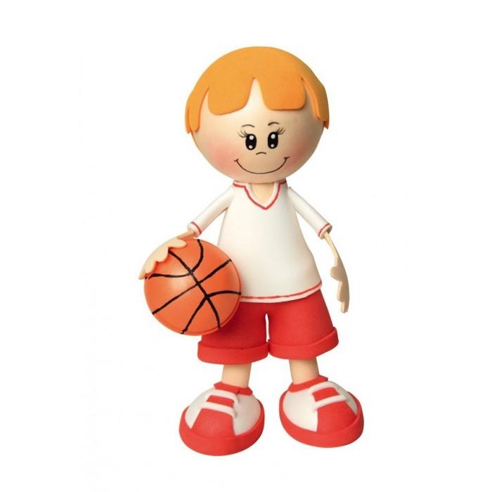 Волшебная мастерская Набор для творчества Создай куклу БаскетболистНабор для творчества Создай куклу БаскетболистВолшебная мастерская Набор для творчества Создай куклу Баскетболист к002  Создай куклу - это уникальный набор, с помощью которого дети своими руками смогут сделать потрясающие кукольные фигурки. Уникальность набора заключается в том, что игрушка создается из необычного материала, который называется фом ева (Fom Eva). Этот удивительный материал по-другому называют пористой резиной и пластичной замшей. В наборе идут тонкие мягкие листы, из которых можно вырезать любые элементы, а после придать им самую разную форму. Для того чтобы придать нужную форму материалу, его нужно нагреть. Затем вы с легкостью скручиваете деталь, делаете волнистые края или натягиваете заготовку на любую поверхность. После охлаждения материал продолжает держать форму. Состав материала фом ева абсолютно безопасен.  Диаметр пенопластовых заготовок: от 35 мм до 60 мм. Диаметр подставки: 90 мм. Размер листов FOM EVA: 29.8 х 20 см. Длина шпажек: 10 см.<br>