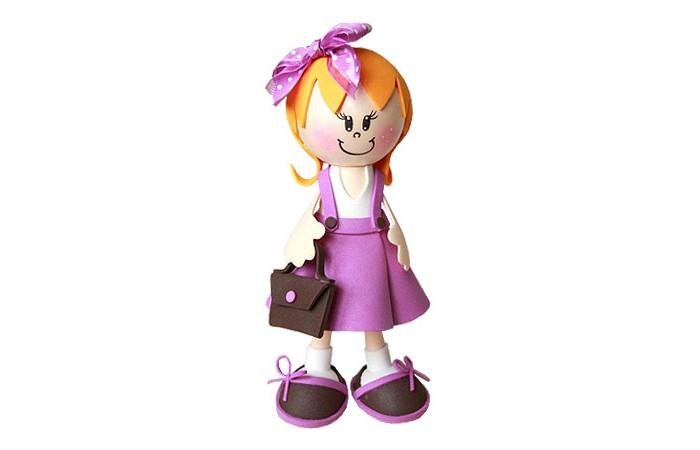Волшебная мастерская Набор для творчества Создай куклу ШкольницаНабор для творчества Создай куклу ШкольницаВолшебная мастерская Набор для творчества Создай куклу Школьница к010  При помощи этого набора для творчества ваш ребенок сможет своими руками создать очаровательную куклу-школьницу. Набор сделан из специального материала FOM EVA, который легко деформируется при нагревании, но не боится воды. Готовая кукла станет отличной игрушкой для вашего ребенка!  В комплекте: пенопластовые заготовки различных форм и диаметров, разноцветные листы FOM EVA, клей, шпажки, подставка – основание для куклы, выкройки, инструкция с пошаговым описанием и фото, в зависимости от вида куклы в комплект входят: ленты, кружево, пуговицы, проволока, бантики и т.п.<br>