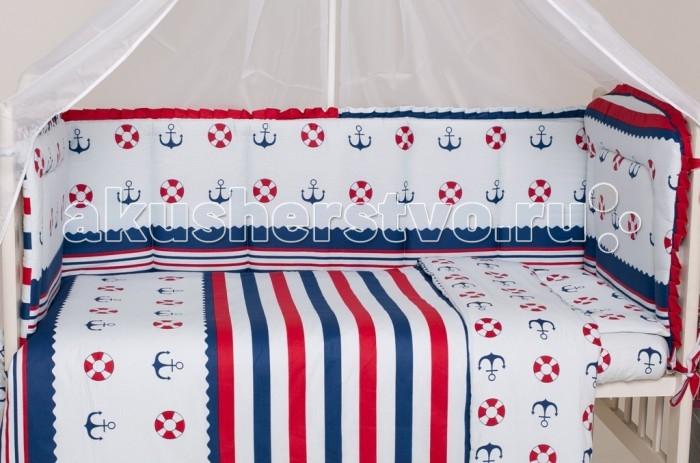 Бампер для кроватки Мой Ангелочек Дизайн № 1