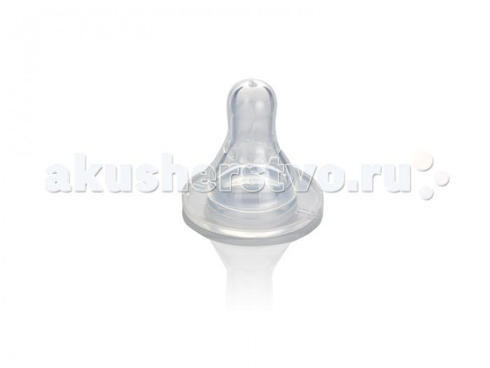 Соска Babyland на бутылочку классическая с 0-6 мес.