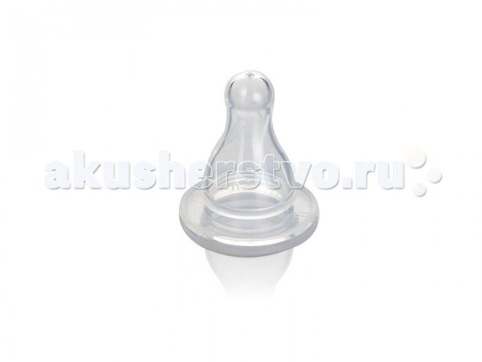 Соска Babyland на бутылочку классическая с 6 мес.на бутылочку классическая с 6 мес.Babyland соска на бутылочку классическая с 6 мес.  Качественная и надежная соска имеет каплевидную форму с направляющими желобами внутри для нормальных условий прохождения жидкости. Изделие выполнено из мягчайшего гибкого силикона - прочного гипоаллергенного материала, который не вступает в химическую реакцию со слюной, хорошо стерилизуется, не теряет форму и не впитывает запахи. Соска стандартного диаметра подходит ко всем бутылочкам.<br>