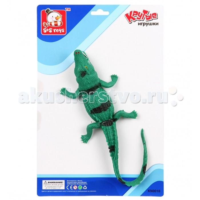 S+S Toys Крокодил 31 смКрокодил 31 смS+S Toys Крокодил 31 см ES-SR6328-112  Игрушка от компании S+S Toys выполнена в очень ярких тонах. Все элементы игрушки выполнены из качественных и безопасны материалов.  Размер игрушки: 31 см<br>