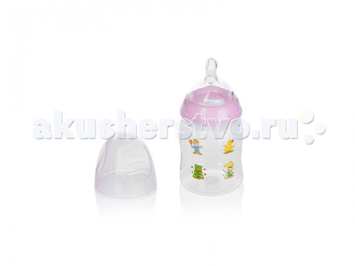 Бутылочка Babyland детская 150 млдетская 150 млBabyland детская бутылочка 150 мл.  Бутылочка с широким горлышком разработана совместно с опытными специалистами , чтобы предоставить возможность сочетать грудное вскармливание и кормление из бутылочки и предотвратить появление колик. Можно использовать как поильник если приобрести силиконовый спаут на бутылочку.<br>