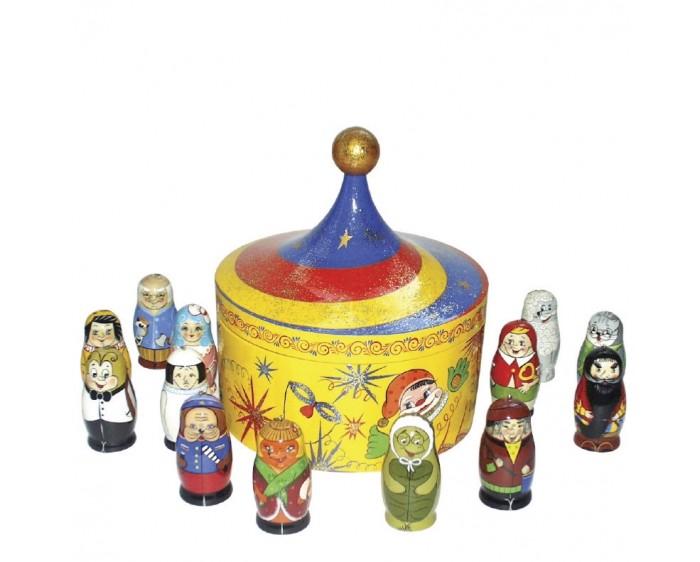 Деревянная игрушка Томик Шнуровка Бабочка