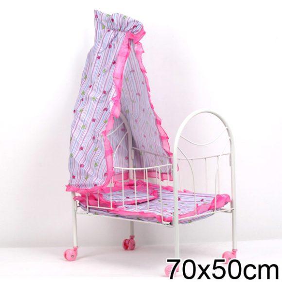Игрушечные кроватки Mary Poppins с балдахином на колесиках