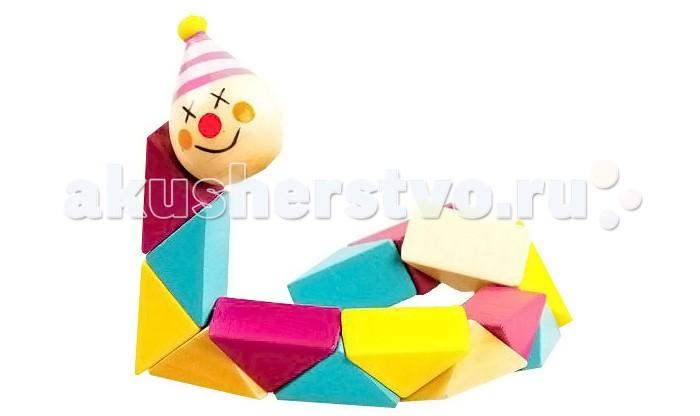 Деревянная игрушка Mapacha КлоунКлоунЛогическая игрушка Mapacha Клоун станет идеальным подарком для вашего малыша, ведь она не только развлекает, но и улучшает его навыки.  Собирая различные фигурки, ребенок развивает мелкую моторику рук, координацию и логическое мышление. Благодаря игрушке кисти и пальцы приобретут хорошую гибкость и подвижность, исчезнет скованность движений и улучшится память малыша.<br>