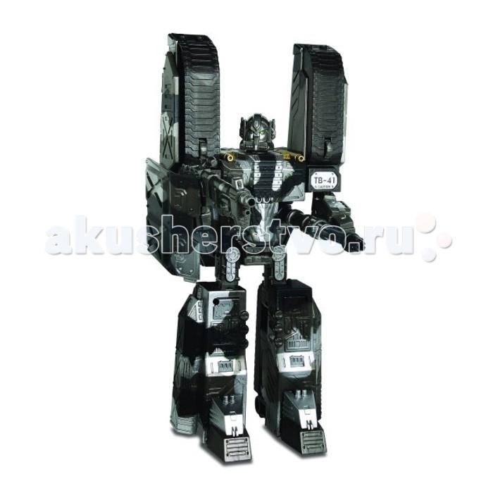 Happy Well Трансформер X-Bot Робот-танк 30 смТрансформер X-Bot Робот-танк 30 смИгрушка-трансформер X-Bot изготовлена из прочного пластика, окрашенного в неброские камуфляжные цвета. Этот суровый воин может принимать вид человекоподобного робота или превращаться с суперсовременный танк. Так или иначе, но трансформер несет на себе комплект мощного вооружения и представляет немалую опасность для неприятелей.  Основные характеристики:   Размер упаковки: 38 х 11.5 х 32 см Высота робота: 30 см<br>