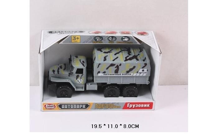 Play Smart Автопарк инерционная машина грузовик Р41436Автопарк инерционная машина грузовик Р41436Play Smart Автопарк инерционная машина со светом и звуком,открывающаяся дверь,грузовик 19,5 х 11 х 8 см - станет замечательным подарком для любого мальчика. Достаточно слегка откатить игрушку назад на плоской поверхности, а за тем отпустить - и машинка быстро помчится вперед.   Модель машинки выглядит очень реалистично, оснащена световыми и звуковыми эффектами, что делает процесс игры еще более интересным и увлекательным. Игрушка отлично подходит для сюжетно-ролевых игр, в процессе которых у ребенка развивается активное мышление, воображение и память. Модель выполнена из качественных, прочных и безопасных материалов.<br>