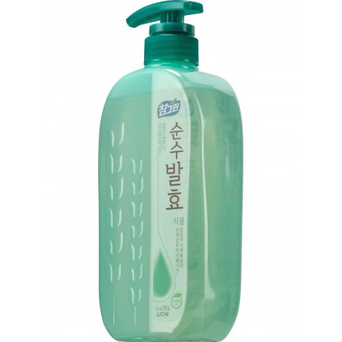CJ Lion Средство для мытья посуды Chamgreen Pure Fermentation Растительные ферменты 720 мл