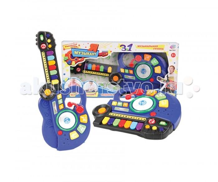 Музыкальная игрушка Play Smart Я музикант 3 в 1