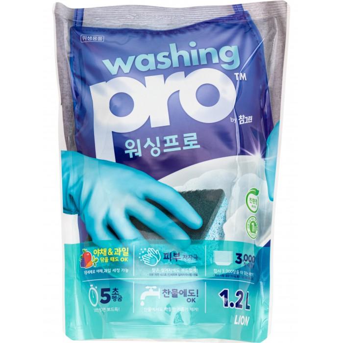 CJ Lion Средство для мытья посуды Washing Pro 1200 мл