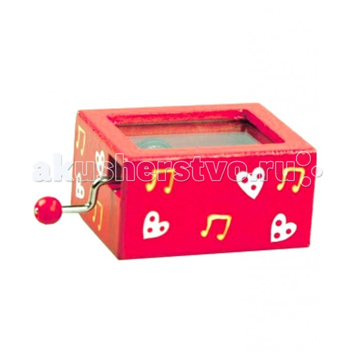 Музыкальная игрушка Mapacha ШарманкаШарманкаШарманка Mapacha - музыкальная игрушка, которая обязательно заинтересует Вашего ребенка.   Она сделана в виде шкатулки красного цвета c нарисованными нотками. Когда малыш крутит ручку, он слушает красивую мелодию. Игрушка развлечет ребенка и будет развивать его музыкальные способности.<br>