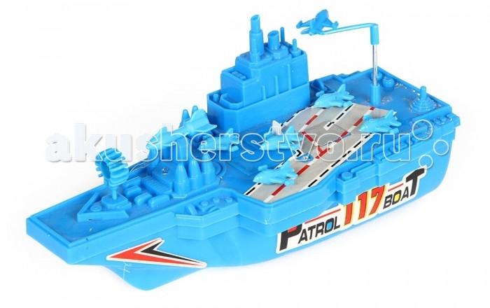 Игруша Корабль i-117Корабль i-117Игруша Корабль i-117  Игровой набор от компании Игруша Военный корабль обязательно понравится вашему малышу. Все элементы набора произведены из качественных и безопасных материалов.  Работает на батарейках Возраст: от 3 лет<br>
