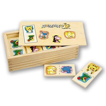 Игры для школьников Mapacha Домино Веселая компания