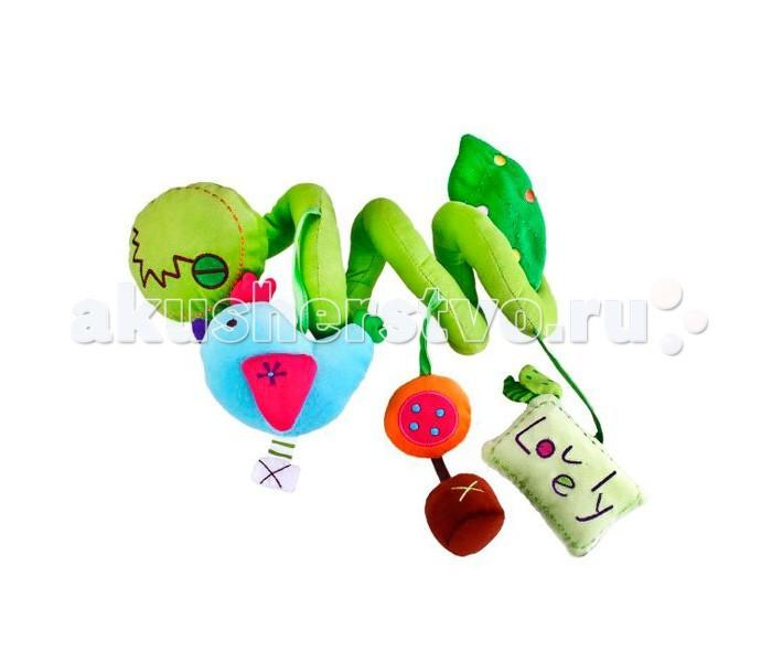 Жирафики Растяжка на коляску, автокрело, кроваткуРастяжка на коляску, автокрело, кроваткуЖирафики Растяжка для кроватки, коляски, автокресла - яркая игрушка, которая способствует развитию цветового и звукового восприятия малыша, умению фокусировать взгляд на движущихся объектах.   Игрушка развивает воображение, цветовое восприятие, мелкую моторику, тактильные ощущения.<br>