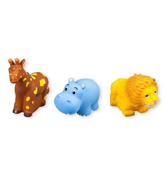 Жирафики Набор для купания Животные АфрикиНабор для купания Животные АфрикиЖирафики Набор Животные Африки изготовлен из высококачественного пластизоля, который совершенно безвреден, не имеет запаха и искусственных красителей. Внутри игрушек встроена пищалка, которая активируется при нажатии на игрушку.<br>