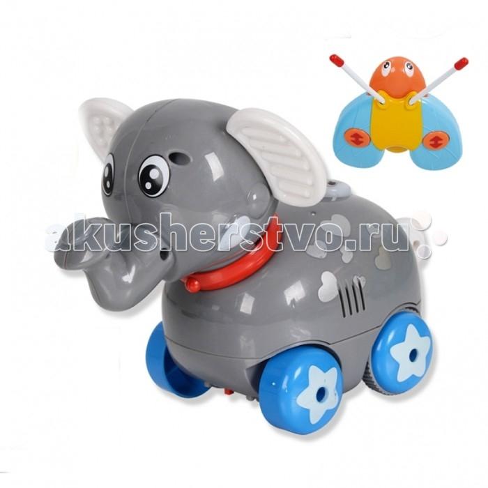 Интерактивная игрушка Zhorya На радиоуправлении Музыкальный друг Слон