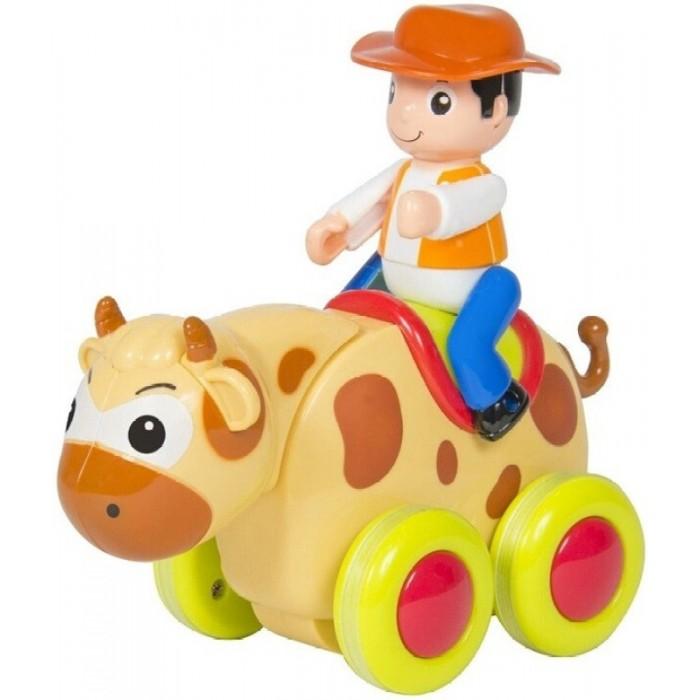 Развивающая игрушка Huile Toys Веселый зоопаркВеселый зоопаркHuiLe TOYS Веселый зоопарк  Тигр, овечка, поросенок, кот, собака, слон, панда и лев используют инерционный принцип движения. Зверушки на ходу качают головой из стороны в сторону и издают разные звуки. Веселый зоопарк всегда готов к приключениям!  Игрушки сделаны из высококачественного прочного пластика и являются идеальным дополнением к коллекции игрушек любого ребенка, будь то в игровой комнате или песочнице.  Игра с Веселым зоопарком помогает детям развивать воображение, изобретательность, мелкую моторику, способствует интеллектуальному развитию и эмоциональному благополучию, обучает практике совместной игры.  Игрушки в ассортименте. Цена указана за 1 шт.<br>