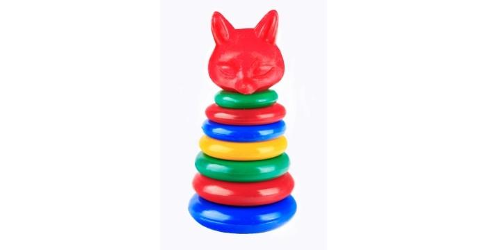 Развивающая игрушка СВСД Пирамидка Лисичка