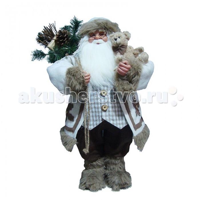 Maxitoys Фигура Дед Мороз в Шубе 80 смФигура Дед Мороз в Шубе 80 смДед Мороз - большая рождественская фигурка, без которой практически невозможно представить себе ни один новогодний праздник.   Конечно же, в мешке этот вестник наступающего года несет подарки (правда декоративные).  Выглядит очень естественно, со множеством мелких деталей. Отлично встанет под новогоднюю елку.   Высота Фигуры - 80 см<br>