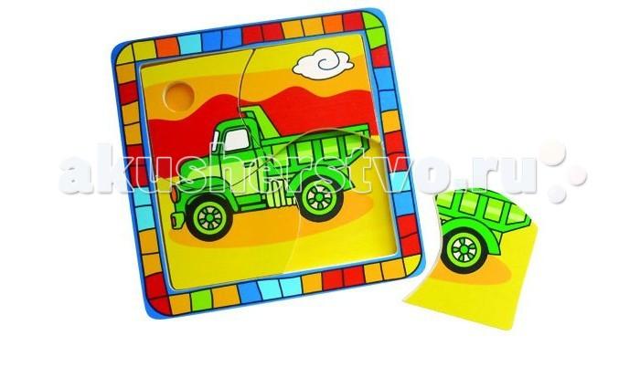 Деревянная игрушка Mapacha Пазлы Мой автомобильПазлы Мой автомобильПазлы Mapacha Мой автомобиль  Этот пазл может быть самым первым для малышей. Игра состоит всего из 4 деталей-частей. Их надо собрать на дощечку-основание, на которой нанесен рисунок. Именно он подскажет крохе, как правильно расположить фрагменты изображения. Игра пазл способствует развитию у детей памяти, наблюдательности, зрительному восприятию.<br>