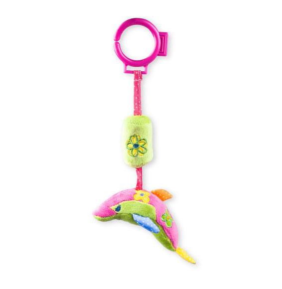 Подвесная игрушка Жирафики Дельфин с колокольчиком